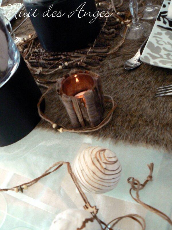 Nuit des anges décoratrice de mariage décoration de table scandinave 012