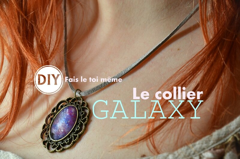 Le collier GALAXY [DIY]