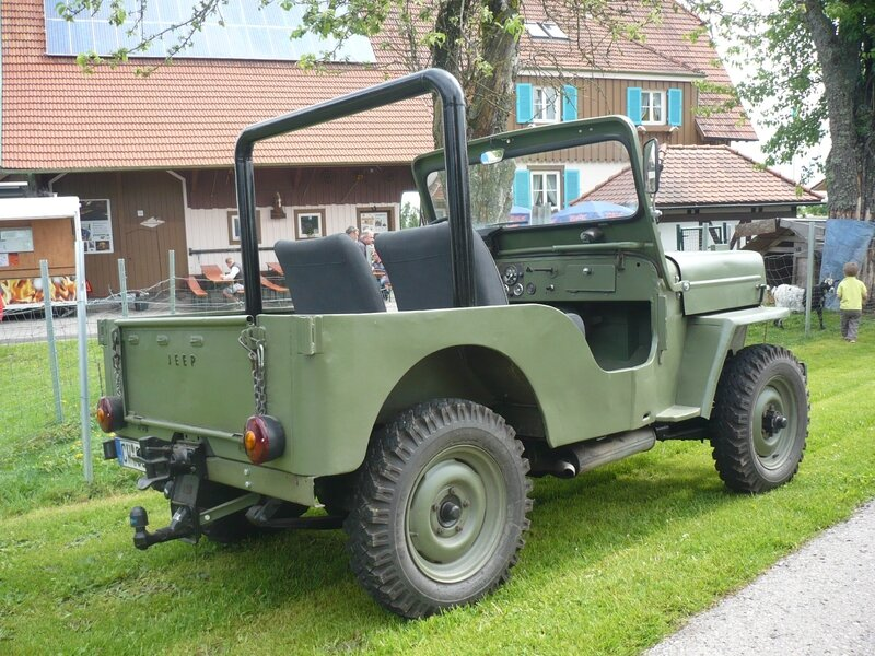 WILLYS Jeep CJ-3B Bad Teinach - Schmieh (2)