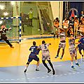 Premier match en d1 de paris handball à coubertin