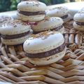 Macarons gavottes nutella