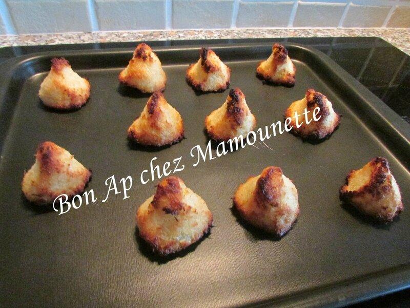 rochers coco vanillés et miellés 006
