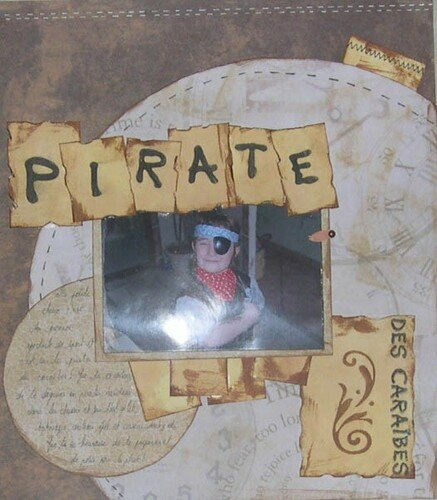 comment ne pas faire de page sur le premier spéctacle de sport de mon petit pirate des caraïbe