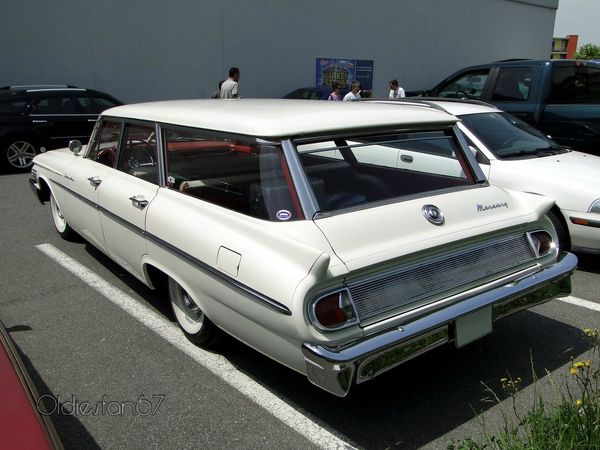 mercury commuter station wagon 1961 b
