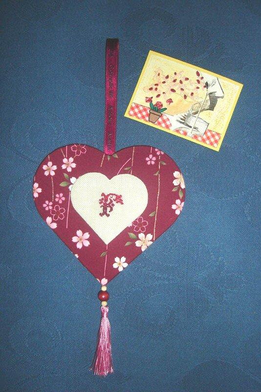 Coeur cartonnage