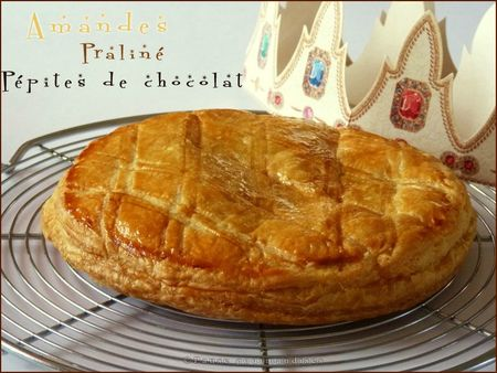 01-Galette au amandes pralin et ppites de chocolat (25)