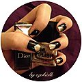 Illuminatus nailart (black & gold)