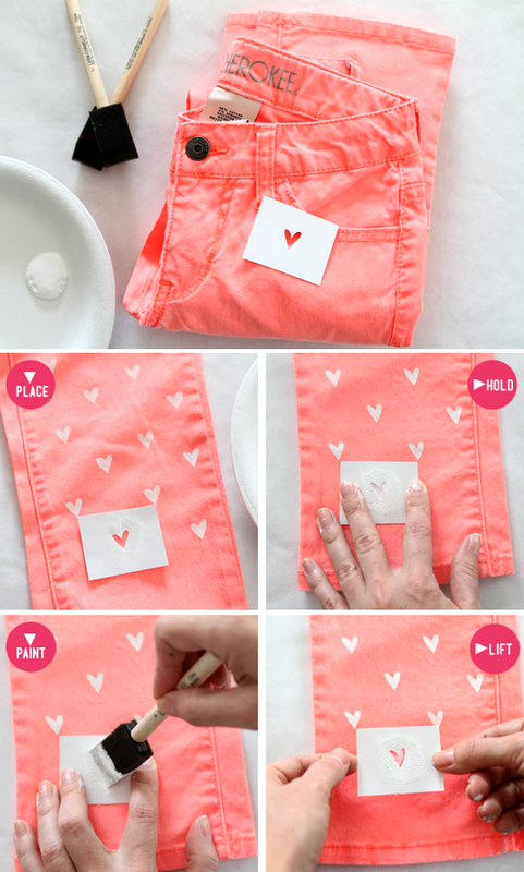 DIY-Heart-Painted-Jeans-Tutorial