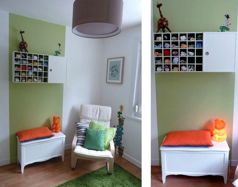 la chambre de b b 1 air 2 d co. Black Bedroom Furniture Sets. Home Design Ideas