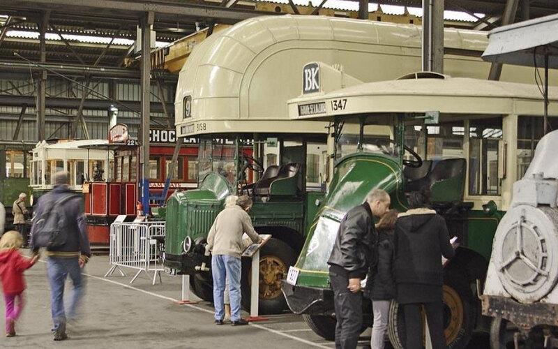 Chelles, septembre 2013. Le musée des transports urbains de France ouvre ses portes aux visiteurs ce samedi. DR