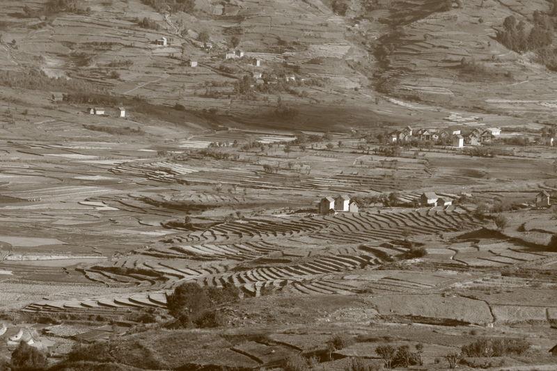 Sur la route entre FIANARANTSOA et ANATANANARIVO