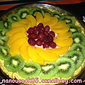 Tarte aux fruits express...