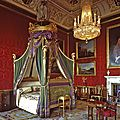 The bedchamber of the king, windsor castle.