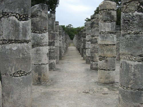 Chichen Itza - Group of Thousand of Columns