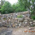 mur à La Collange