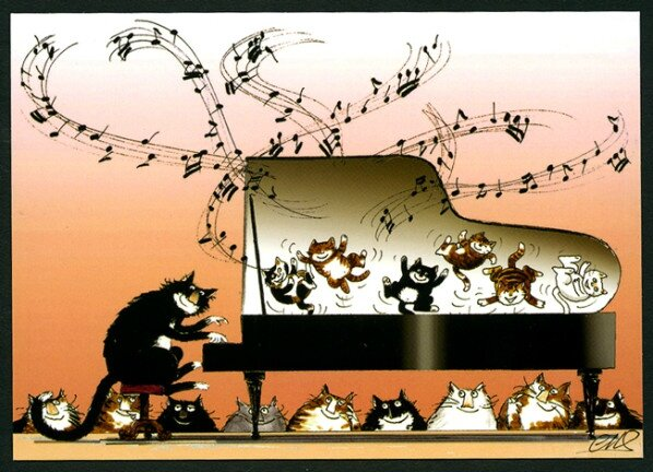 Chats-musiciens