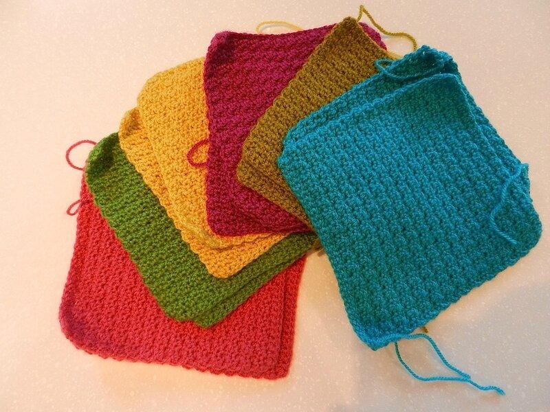 Carrés Crochet 1