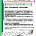 Bulletin de liaison n° 104