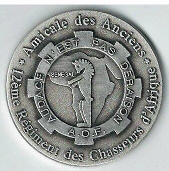médaille Amicale