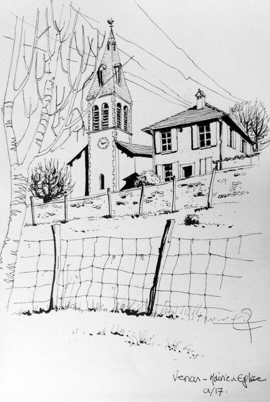 mairie église