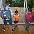 Quatre écoliers !