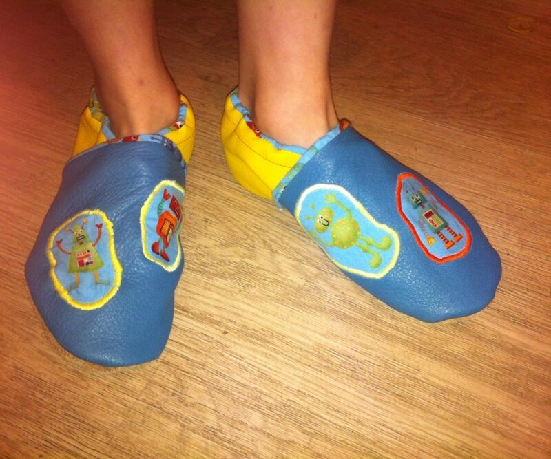 chaussons robots