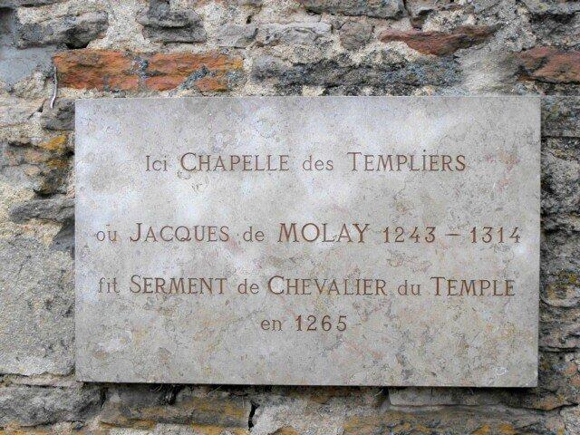 Vous connaissez Jacques de Molay, le dernier Grand-Maitre de l'Ordre du Temple ?
