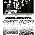 The jackson 5, parliament-funkadelic inducted into rock' n' roll of fame - jet 26 mai 1997