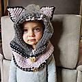 Capuche oreille d'ours
