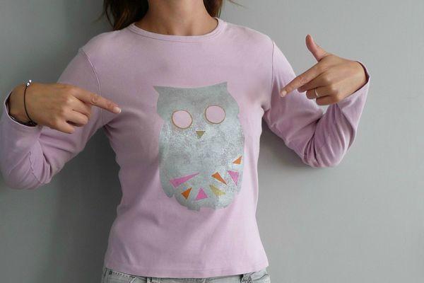 t shirt hibou 1