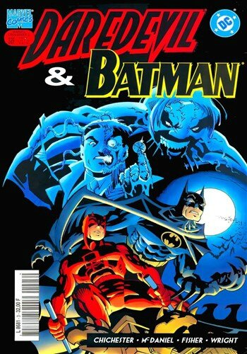 marvel crossover 03 daredevil batman
