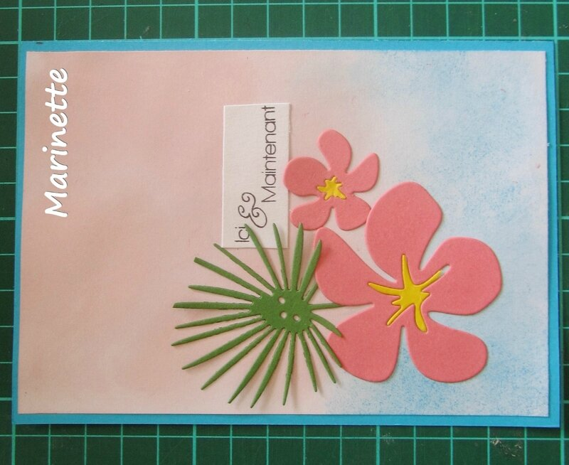 JUIN 17 INSPIRATION CARD SCRAP DIY LA MIENNE