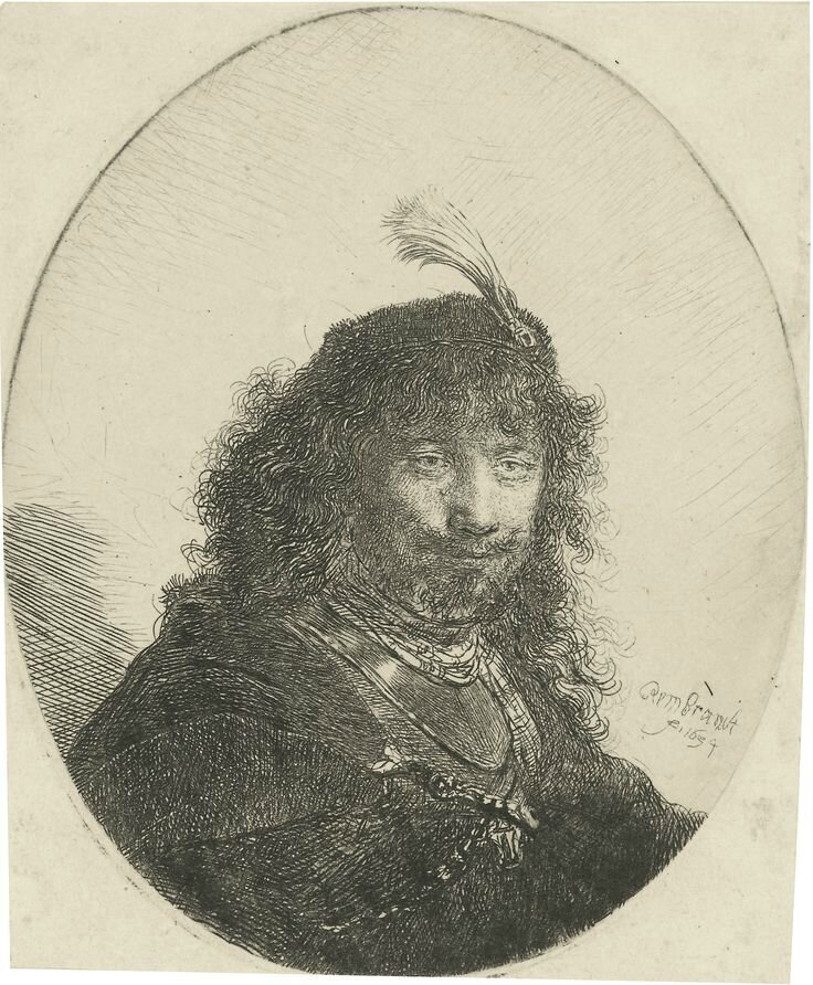 Rembrandt's Self portraits: Four Prints at Sotheby's