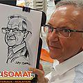 Caricaturiste à mulhouse 68, entreprise isomat, 2016