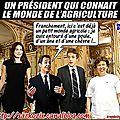 Sarkozy, un président qui connait si bien le monde agricole !