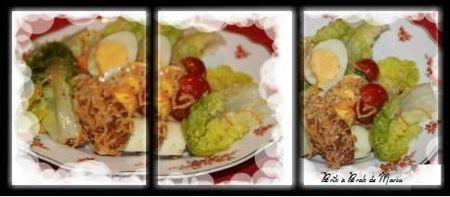salade poulet fleury michon