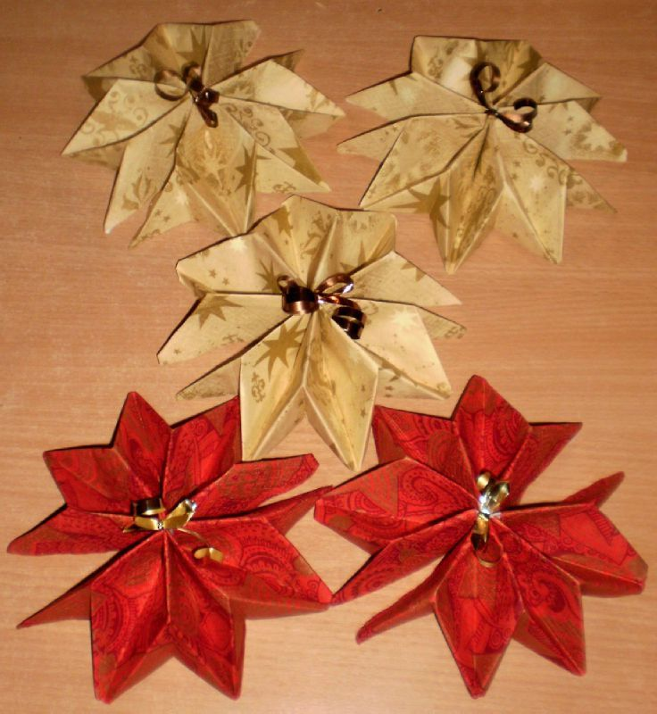 Pliage serviette facile paper mache crafts for Pliage serviette papier pour noel facile
