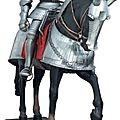 Armure et barde lourde de cheval  cannelures, du style dit  Maximilien ,Allemagne du Sud vers 1525, XIXe sicle et moderne