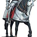 Armure et barde lourde de cheval à cannelures, du style dit « maximilien »,allemagne du sud vers 1525, xixe siècle et moderne