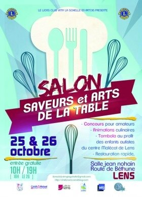 Salon saveurs art de la table de lens les chefs en nord - Salon art de la table ...