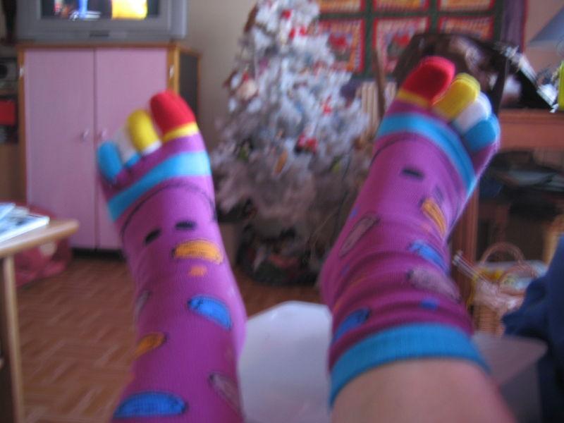 de Clio, Même pas tricotées main !!!!!