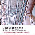Stage d'été de corseterie, parceque vous recevoir et vous accompagner est un plaisir!