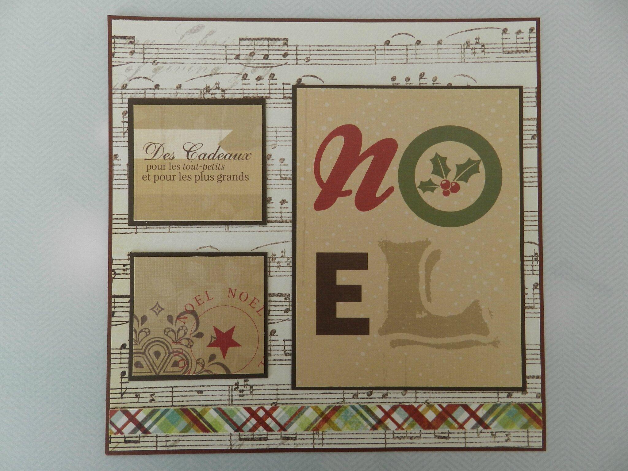 6 cartes de Noël