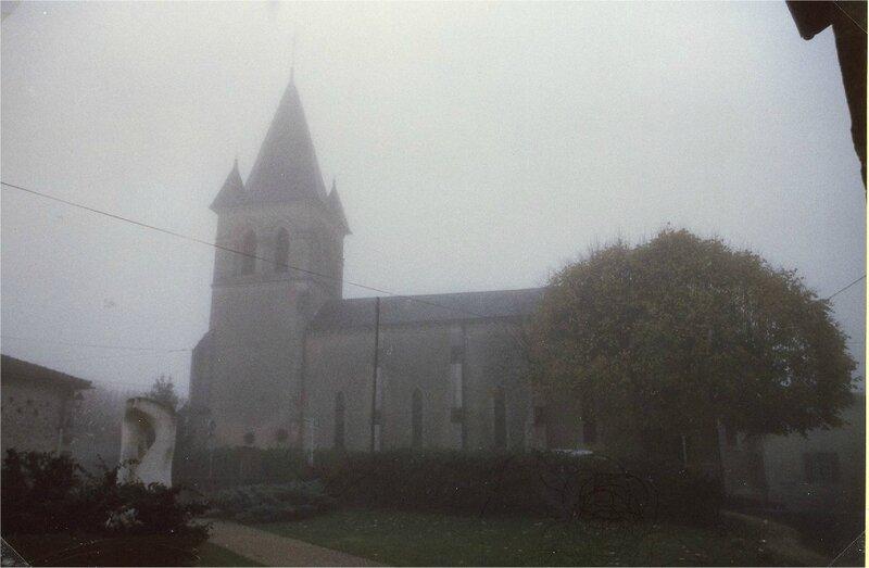 Un jour de novembre sous le brouillard