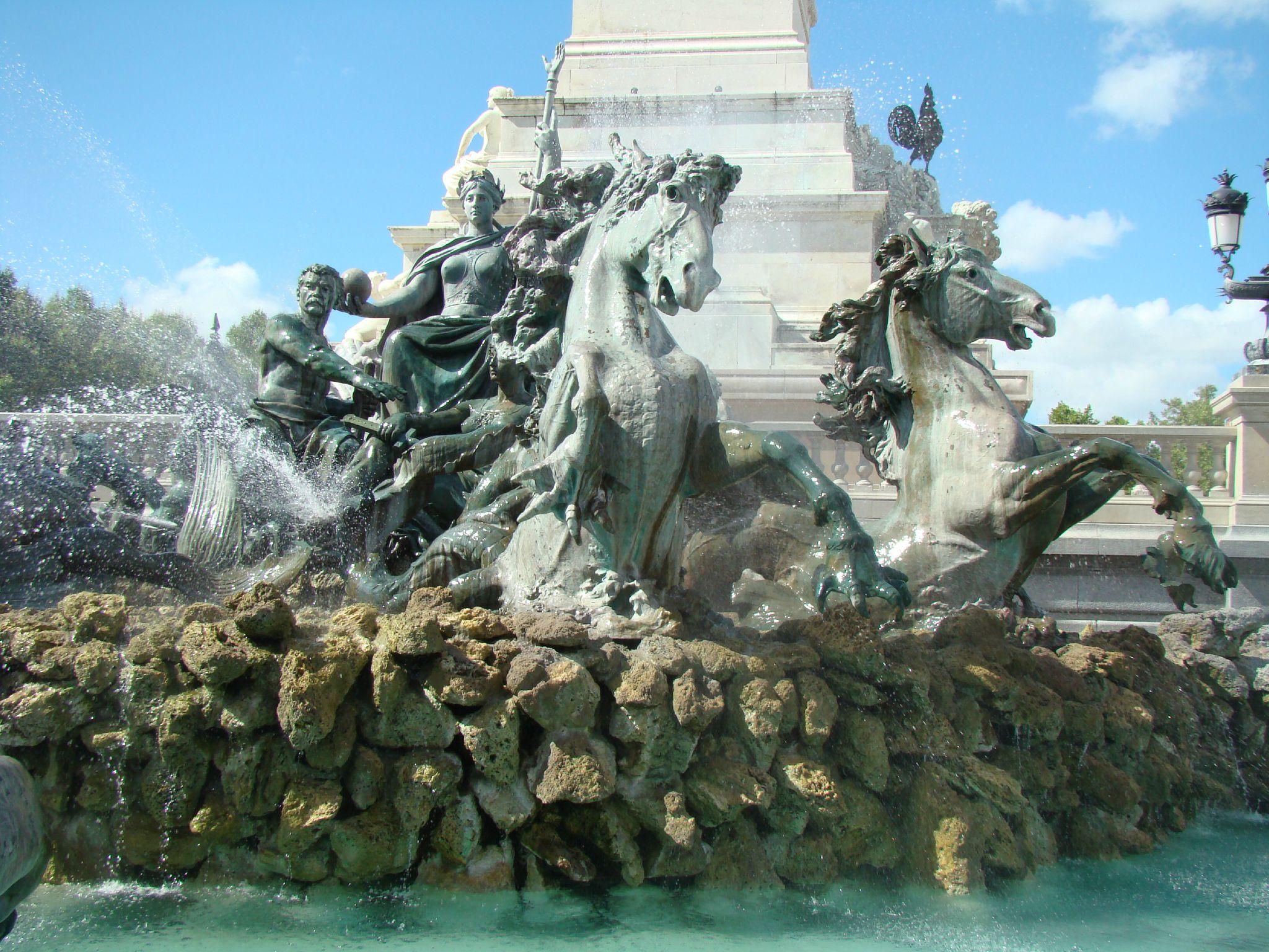 Le monument aux girondins et la r publique de bordeaux 1 grains de sel - Tablier de forgeron ...