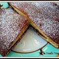 Special halloween : gâteau au nutella tellement bon ...que ça fait peur ! nutella cake, so good that...it is almost scary !