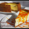 Cheese cake clmentine spculoos...
