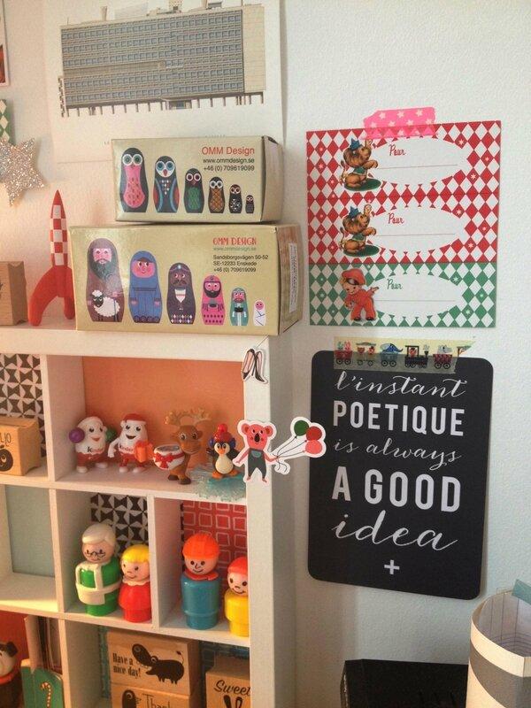 carte L'Instant poètique-poupées russes Ingela Arrhenius-casier Hema-kinder surprises