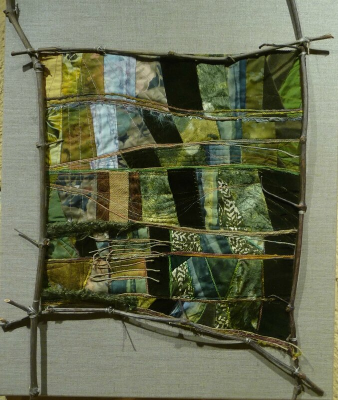 art textile, patchwork