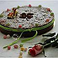 <b>Gâteau</b> <b>magique</b> au chocolat....pour Pâques....EXTRA!!!!!